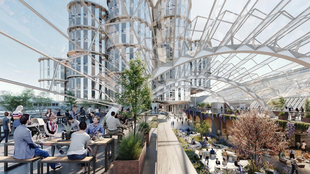 Olympia London - The Future- Rooftop