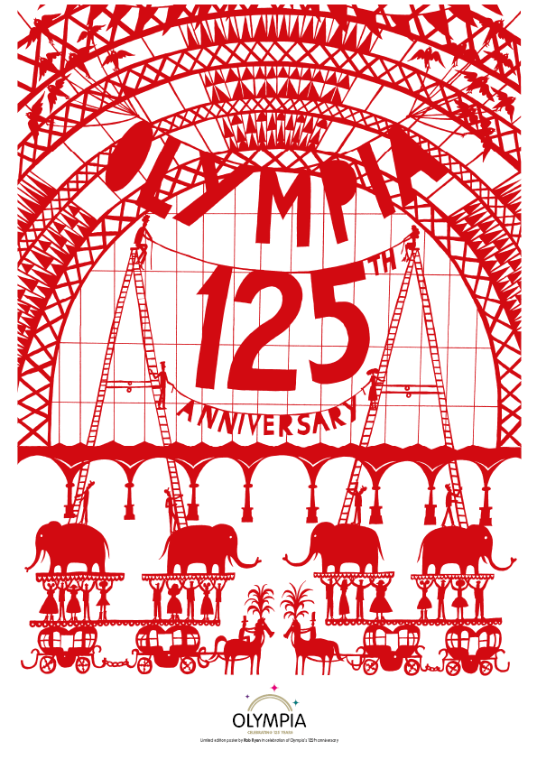 125 years of Olympia London