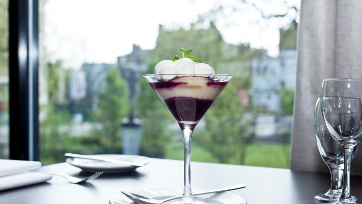Discover a sophisticated dining experience at Society Bar & Restaurant in Hilton London Olympia.